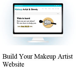 Build Your Makeup Artist Website